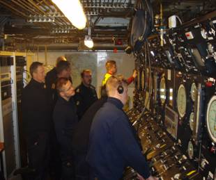 Conducting chamber system course, for the Swedish Armed Forces on the saturation chambers complex manufactured by